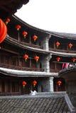 Estruturas de terra de Fujian Fotografia de Stock