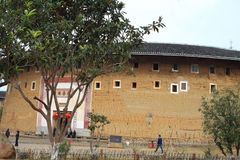 Estruturas de terra de Fujian Foto de Stock Royalty Free