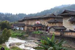 Estruturas de terra de Fujian Fotos de Stock