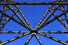 Estruturas do metal Fotos de Stock