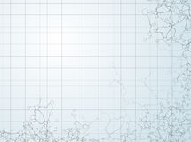Estruturas moleculars Imagens de Stock