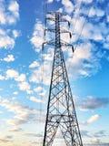 Estruturas, polos, poder, aço, perigoso Imagem de Stock Royalty Free