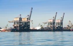 estruturas portuárias Fotografia de Stock