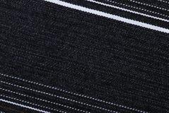 Estruture de um pano das calças de brim Fotos de Stock