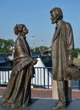 Estátua Abraham Lincoln Fotografia de Stock