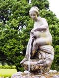 Estátua com água Foto de Stock Royalty Free