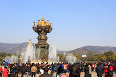 Estátua da Buda Fotos de Stock Royalty Free