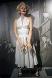 Estátua da cera de Marilyn Monroe Foto de Stock