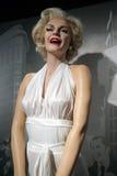 Estátua da cera de Marilyn Monroe Fotos de Stock