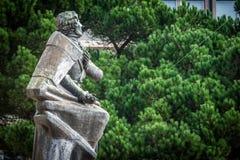Estátua de Almeida Garrett Foto de Stock