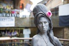 Estátua de Amy Winehouse Fotografia de Stock Royalty Free