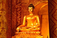 Estátua de buddha Imagem de Stock Royalty Free