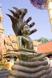 Estátua de Buddha em Doi Suthep   Foto de Stock