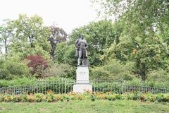 Estátua de Frantisek Ladislav Rieger Fotos de Stock Royalty Free