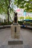 Estátua de Hachiko - Shinjuku, Tóquio, Japão Foto de Stock