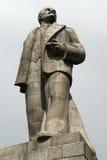 Estátua de Lenin em Moscovo, Rússia. Imagem de Stock
