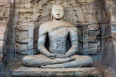 Estátua de Lord Buddha Imagens de Stock