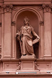 Estátua de mármore cor-de-rosa Fotos de Stock