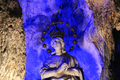 Estátua de Santa Rosália, palermo Imagem de Stock Royalty Free
