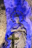 Estátua de Santa Rosália, palermo Imagens de Stock Royalty Free