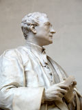 Estátua do senhor Isaac Newton Fotografia de Stock Royalty Free
