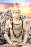 Estátua grande de Shiva em Bangalore Foto de Stock Royalty Free