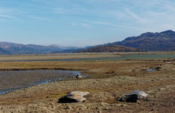 Estuaire de Barmouth Photo libre de droits