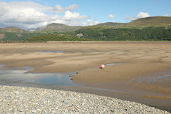 Estuaire de Mawddach Photo stock