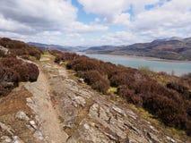 Estuaire de Mawddach près de Barmouth image libre de droits