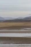 Estuaire et viaduc de Mawddach photo stock