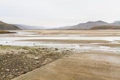Estuaire et viaduc de Mawddach Images stock