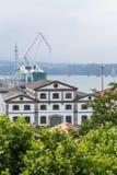 Estuaire Ferrol, Galicie, Espagne Images stock