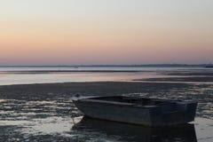 Estuario della barca Immagini Stock