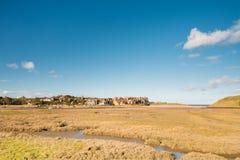 Estuario di Alnmouth Immagine Stock