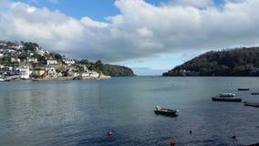 Estuario di Dartmouth Devon Regno Unito Fotografia Stock Libera da Diritti