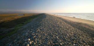 Estuario di Tijuana e linea costiera imperiale della spiaggia Fotografie Stock Libere da Diritti