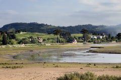 estuary Arkivbild