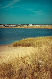 Estuary in coastal area of Cape Cod, Massachusetts Royalty Free Stock Photography