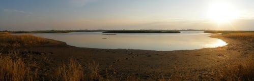 Estuary Molochniy. (Dairy), Kirillovka, Ukraine, sea of Azov stock photos