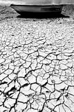 Estuary - Norfolk UK. Dried & cracked mud on a Norfolk estuary - UK Stock Photo