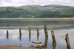 Estuary of River Mawddach Royalty Free Stock Photos