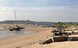 Estuary of the River Taw in North Devon Stock Photography
