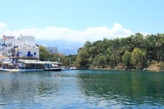 Estuary of Sissi Royalty Free Stock Image