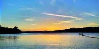 Estuary view Royalty Free Stock Photo