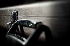 Estuche rígido del instrumento Imagen de archivo libre de regalías