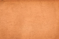 Estuco anaranjado Foto de archivo libre de regalías