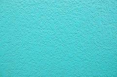Estuco azul Fotografía de archivo libre de regalías
