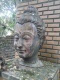 Estuco de la cabeza de Buda Imagenes de archivo