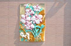 Estuco de la flor Fotografía de archivo libre de regalías