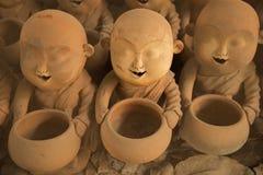 Estuco del monje de la artesanía Fotos de archivo
